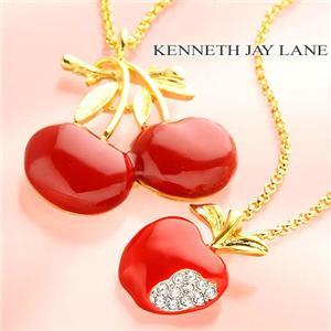 【最終特価】KENNETH JAY LANE ネックレス 8544チェリー