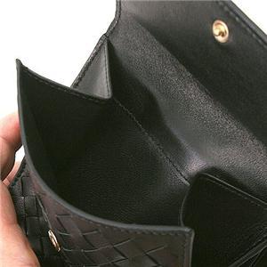 Bottega Veneta(ボッテガヴェネタ) Wホック財布 163240 V0013 NERO(ブラック)1000