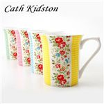 Cath Kidston(キャスキッドソン) マグカップ 4個セット Gingham Boxset