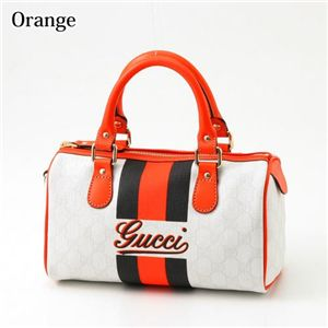 GUCCI(グッチ) バッグ JOY 190257 FJI3G 8374 WHITE×ORANGE