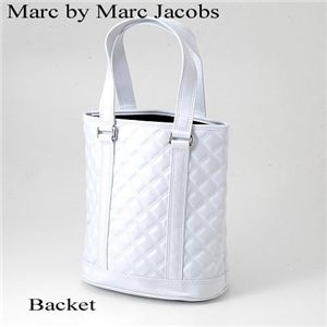 Marc by Marc Jacobs(マークバイマークジェイコブス) キルティング ホワイト バッグ Backet