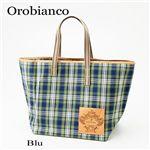 Orobianco(オロビアンコ) チェックトートバッグ SOZZY Blu