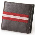 BALLY(バリー) ふたつ折り財布 TIEN N91・Chocolate