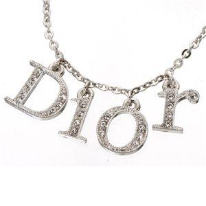 Christian Dior(クリスチャンディオール)ネックレス D20785・ロゴ