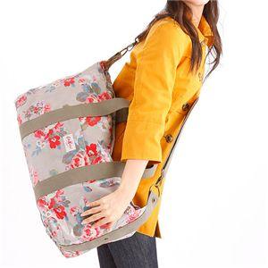 Cath Kidston ボストンバッグ LUGGAGE BAG 230285 Autumn Flowers Stone