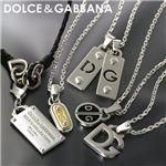 DOLCE&GABBANA(ドルチェ&ガッバーナ) ペンダント ロゴ BJ0469 A9010 8M806