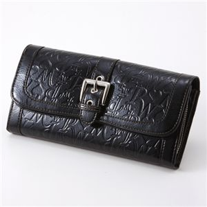 Pinky Wolman(ピンキーウォルマン) 財布 OLIVE 1899 Black