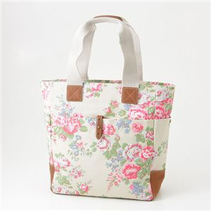 CathKidston 縦型トート TALL TOTE WITH LEATHER 244701