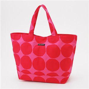 marimekko(マリメッコ) トートバッグ OPPALI 22960 330 Pink×Red