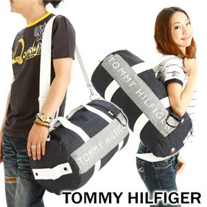 TOMMY HILFIGER(トミーヒルフィガー) デニム ボストンバッグ DUFFLE HARBOUR POINT II