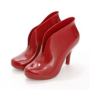 melissa(メリッサ) ブーティブーツ ASHANTI Red EUR 40 (25.5-26.0cm)