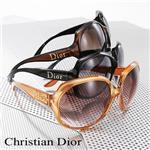 Christian Dior サングラス GLOSSY1-KIF/CC/ブラウン×チョコブラウン