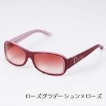 Christian Dior サングラス STRASS1-AZK/TX ブラウンシェード×ブラウン&オレンジ