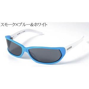 MIUMIU サングラス 12ES-4BN/1A1/スモーク×ブルー&ホワイト