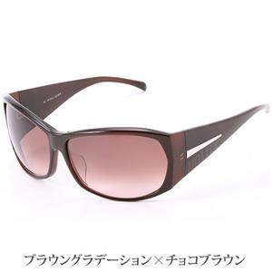 POLICE サングラス S1590J -958/ブラウングラデーション×チョコブラウン
