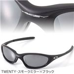 OAKLEY(オークリー) サングラス TWENTY BK/BK POLA スモークミラー×ブラック