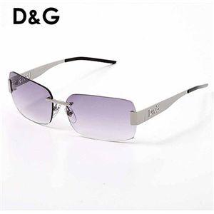 D&G (ディー&ジー) サングラス Asian Fitting 2217TB-8/スモークグラデーション×シルバー