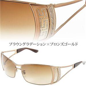 VERSACE(ベルサーチ) サングラス Asian Fitting 2059BA-1169/13/ブラウングラデーション×ブロンズゴールド