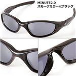 OAKLEY(オークリー) サングラス MINUTE2.0-P BK/BK/スモークミラー×ブラック