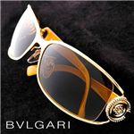 BVLGARI(ブルガリ) サングラス Asian Fitting 6003BA-101/73 オリーブ×ゴールド&ブラックイエロー