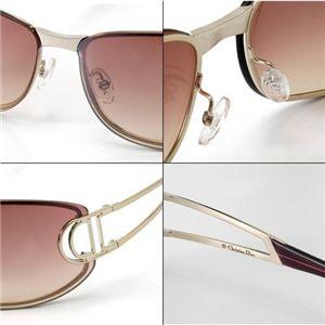 Christian Dior(クリスチャン ディオール) サングラス DIORISSIMO-3YG BU/レッドブラウングラデーション×ゴールド