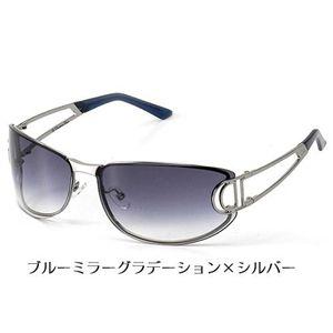 Christian Dior(クリスチャン ディオール) サングラス DIORISSIMO-6LB 50/ブルーミラーグラデーション×シルバー