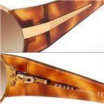 PRADA(プラダ) サングラス 60HS-1BC6S1/ブラウン×シルバー&シャイニーゴールド