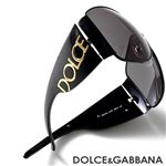 DOLCE&GABBANA �T���O���X 2014-01/87�^�X���[�N�u���b�N&�S�[���h
