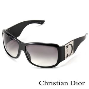 Christian Dior(クリスチャン ディオール) サングラス SHADED1-807/LF スモークグラデーション×ブラック&シルバー