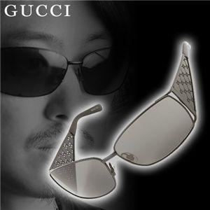 GUCCI サングラス 2832-006/R6 スモーク×ブラック