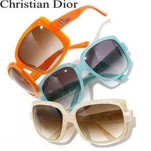 Christian Dior(クリスチャン ディオール) サングラス 60'S1-TRY/02/ブラウングラデーション×ホワイトシェル