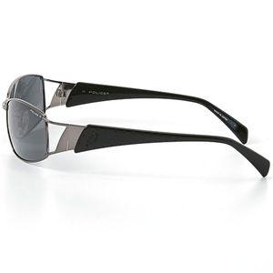 POLICE(ポリス) 偏光レンズサングラス 8354J-568P スモーク×ガンメタル&ブラック