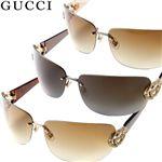 GUCCI(グッチ) サングラス 2833-SPV/IS/ブラウングラデーション×ゴールド&ベッコウ