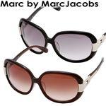 MARC BY MARC JACOBS(マークバイマークジェイコブス) サングラス 093F-ZQ6/FM/ブラウングラデーション×クリアブラウン&ライトゴールド