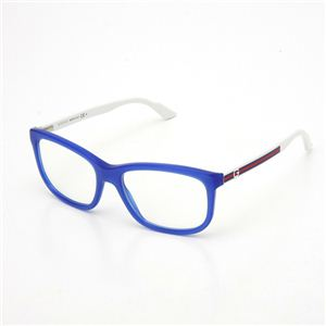 GUCCI(グッチ) ダテメガネ 1635 ブルー&ホワイト 1635-RT1