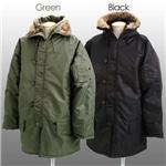 ROTHCO社 N-3B ミリタリージャケット グリーン(セージ) Sサイズ