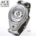 2008年新作 ACE CAFE LONDON ゴーグルウォッチ ロゴ
