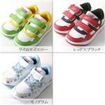 【キッズ靴】VISION スプリングスニーカー VKR012/モノグラム 20cm