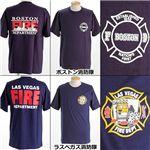 米国着用禁止Tシャツ ボストン消防隊 M
