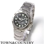 TOWN&COUNTRY(タウン&カントリー) メンズ ブレスウォッチ TC-1