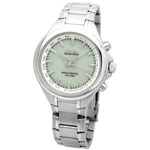 エルジン ソーラー電波腕時計 FK1300S-BRP