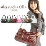 Alessandra olla(アレッサンドラ・オーラ) エディターズバッグ EDI ブロンズ