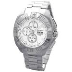 COGU(コグ) 腕時計 クロノグラフ スモールセコンド メンズウォッチ CG-CS20 WH ホワイト