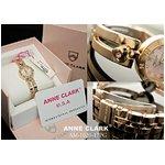 ANNE CLARK(アン・クラーク)レディース腕時計 AM1020-17PG【愛らしいスイング・チャームがキラリ☆】