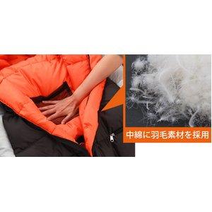 DOPPELGANGER(ドッペルギャンガー)人型寝袋ヒューマノイド スリーピングバック DS-27B zack ブラック ダウンシリーズ