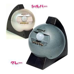 センサーライト エコパ2 シルバー
