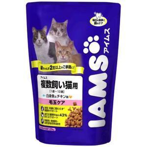 アイムス 複数飼い猫用白身魚&チキン味1.25kg