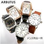 【メーカー在庫一掃セール】ARBUTUS オートマチック スケルトンバック  メンズ