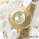 COACH(コーチ) ミニヘリテージ レディースレザーウォッチ 14500945