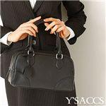 SACSNY Y'SACCS(サクスニー イザック) ウォッチチャーム付フェイクレザーミニボストン